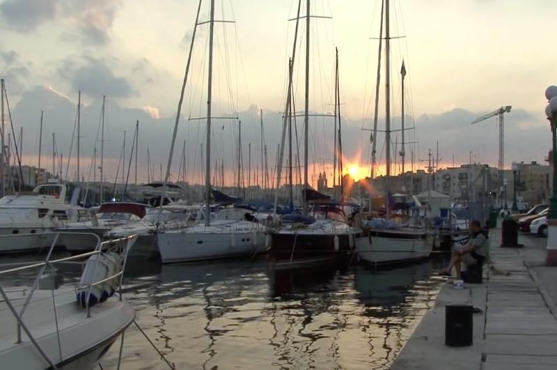 Barcos, no 'Ferry de Sliema'