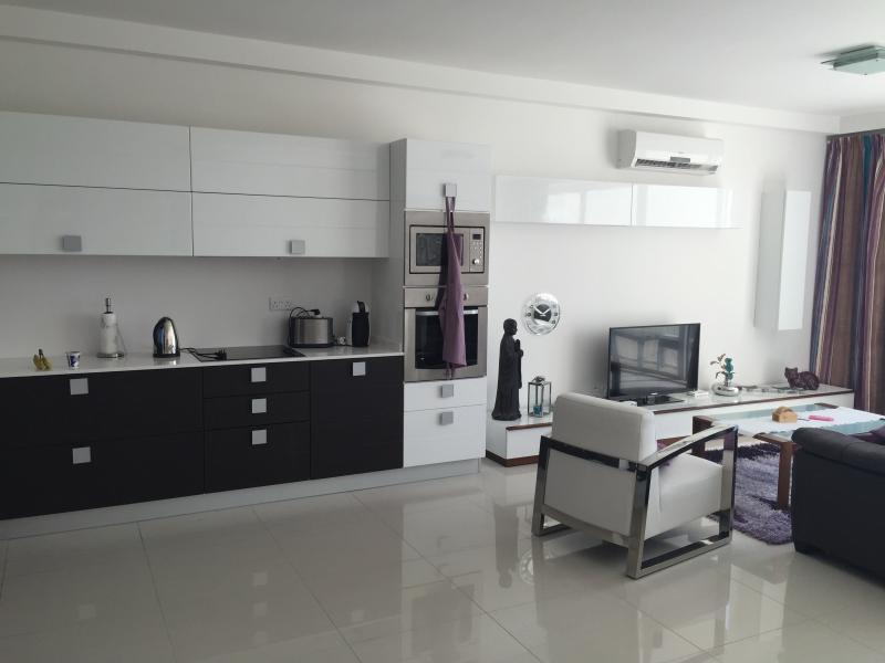 cozinha/sala de estar