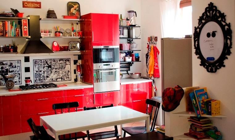 Kitchen - right corner and table