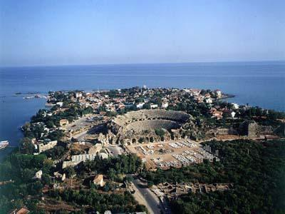 side  antik tiyatro   5  km
