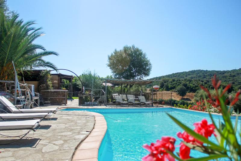 Beautiful house with shared pool, holiday rental in Tizzano