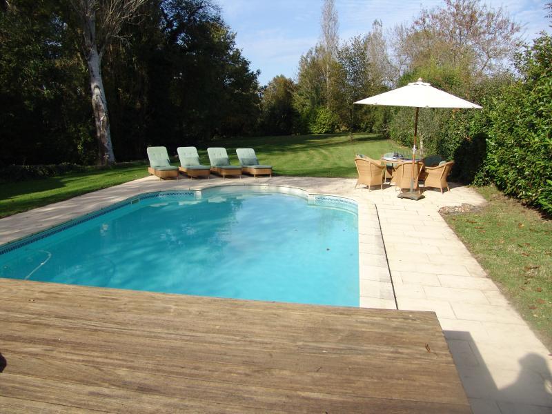 Heated pool at no extra cost in main season (23 May - 3 October).
