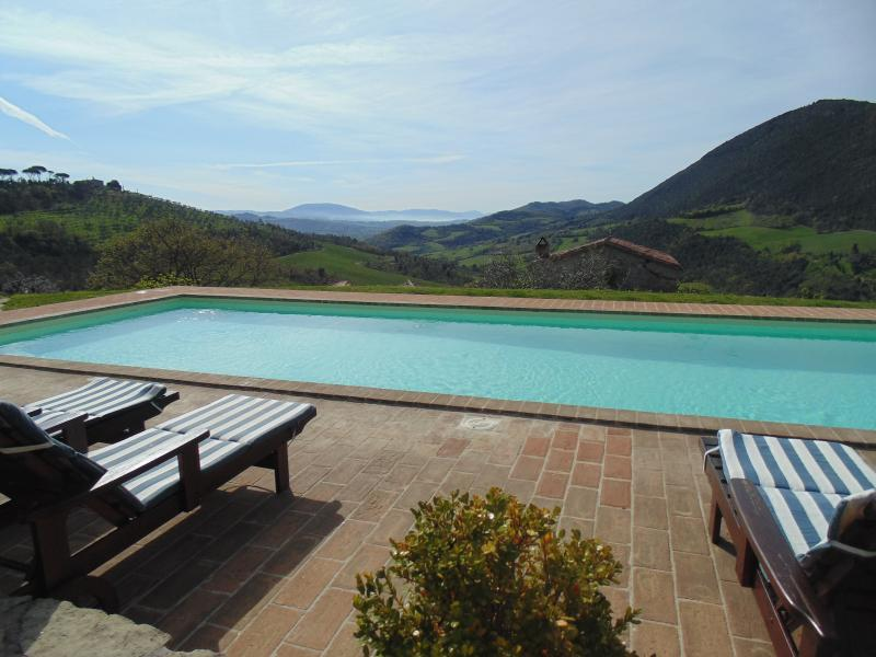 Stunning view from the swimming pool