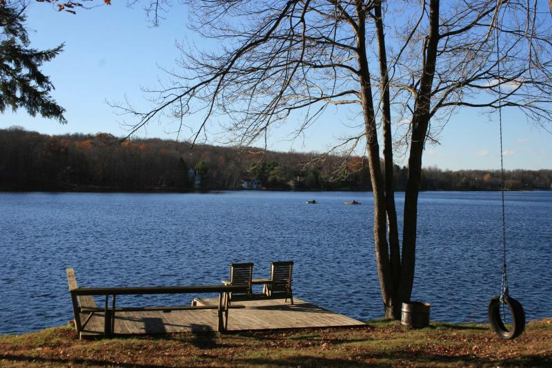 Private Dock on Arrowhead Lake