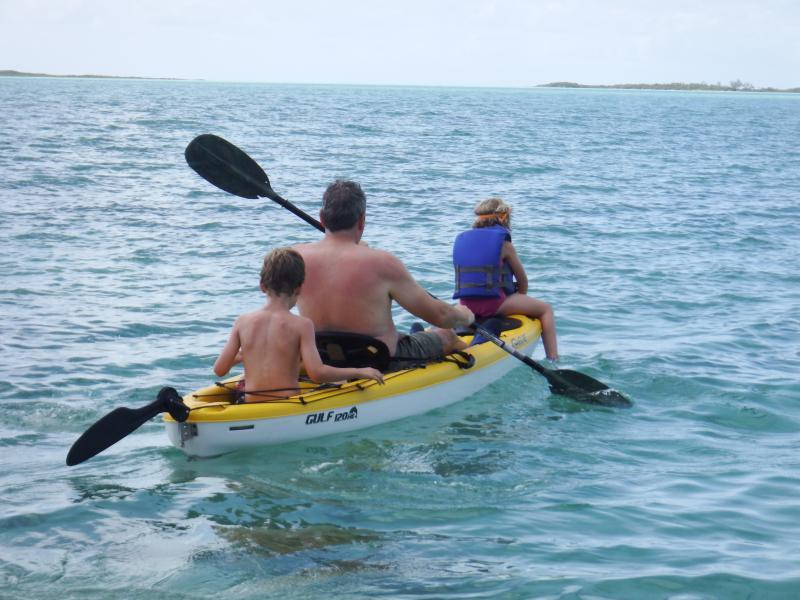 Utilice nuestro kayak de