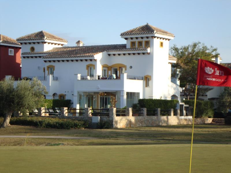Villa views from the 4th green