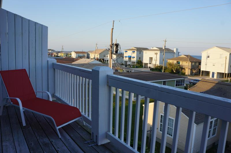 3rd floor guest room deck