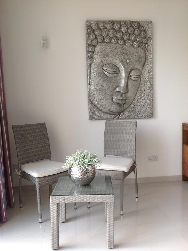 Sala de estar / mobiliário para varanda