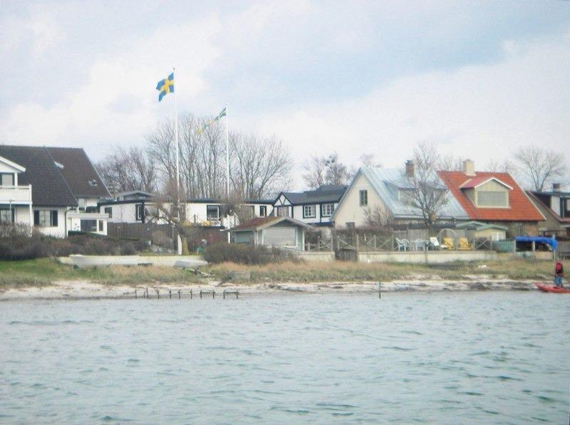 on the sea-shore at Öresund, location de vacances à Kokkedal