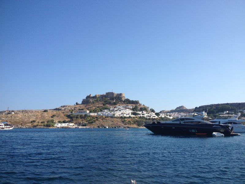 The Acropolis of Lindos - only 20 minutes away