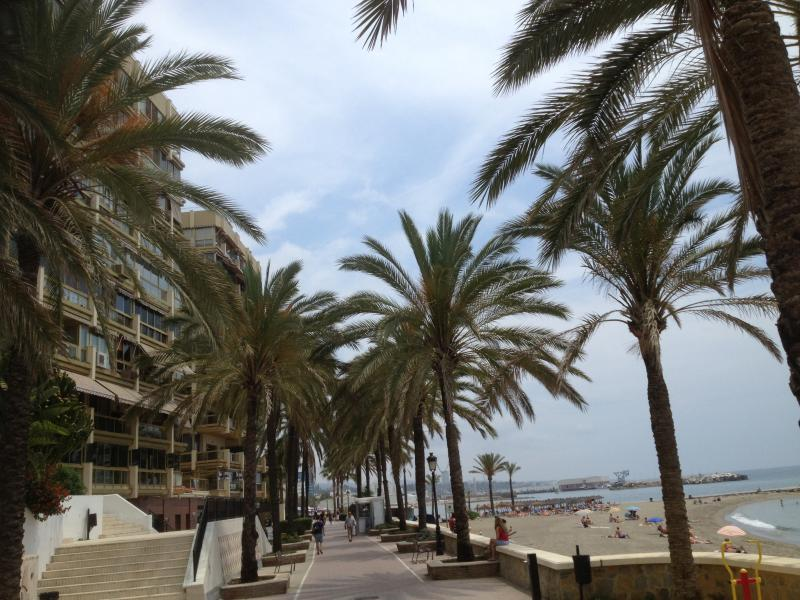 The beach promenad with impressive buildings & villas all the way & a lot more to see!