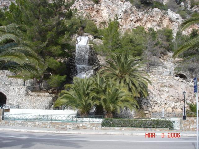 Loutraki Waterfalls