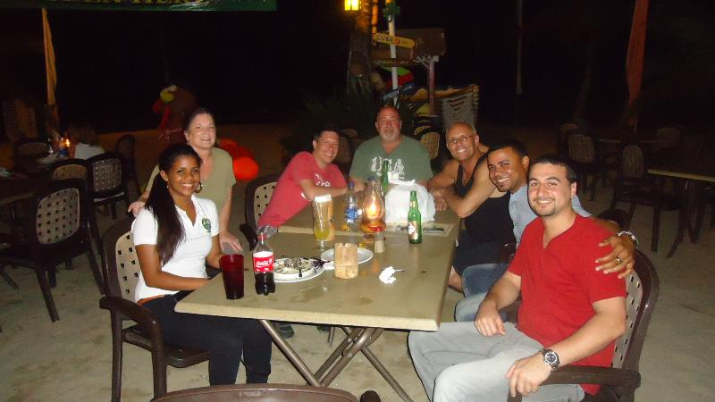 Cabarete beach offers truly alfresco dining, with many fantastic restaurants! Papi's, Lax,