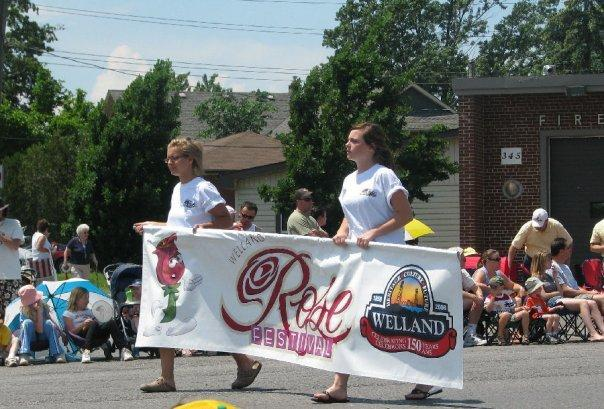 The Annual Welland Rose Festival Grande Parade is an annual event in June