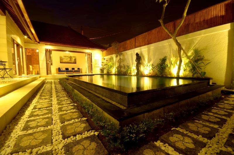 Pool View (night time)
