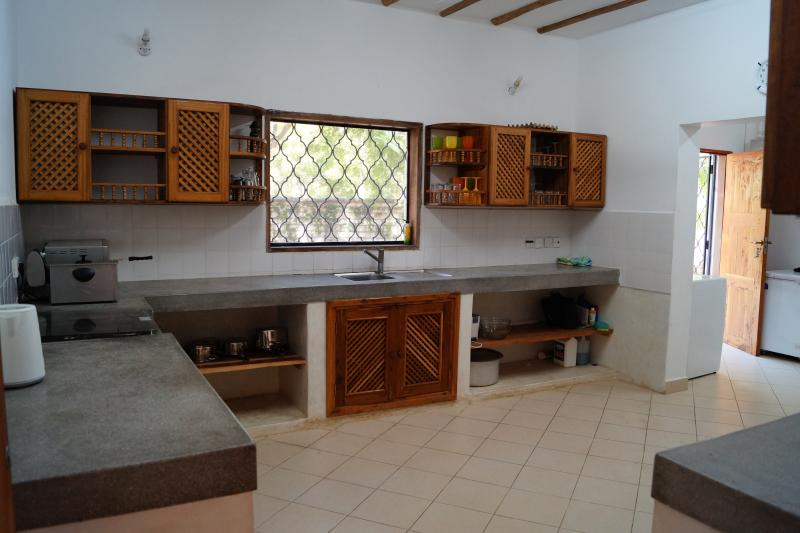 The kitchen/utility room