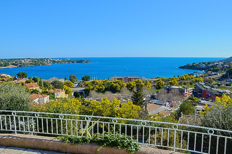 View in February on Agay's Bay