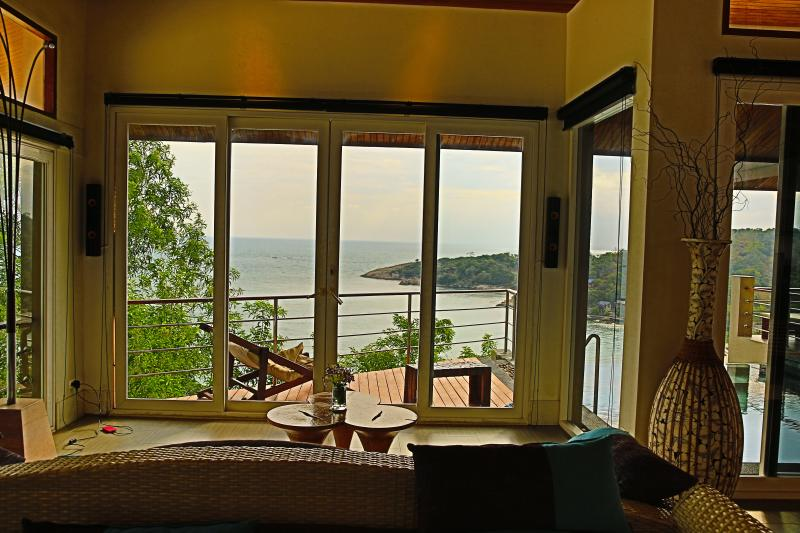 View from TV Room overlooking Tongson Bay