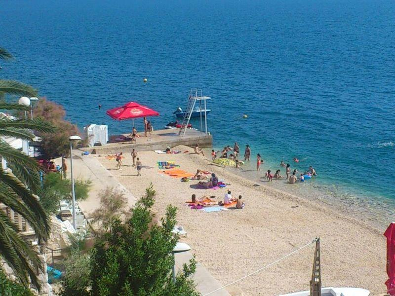 Komarna beach only 20 meters from villa Vedran apartment