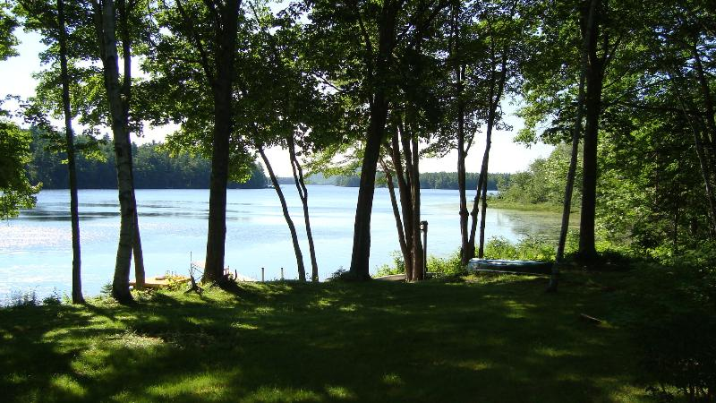 View of lake from Cottage