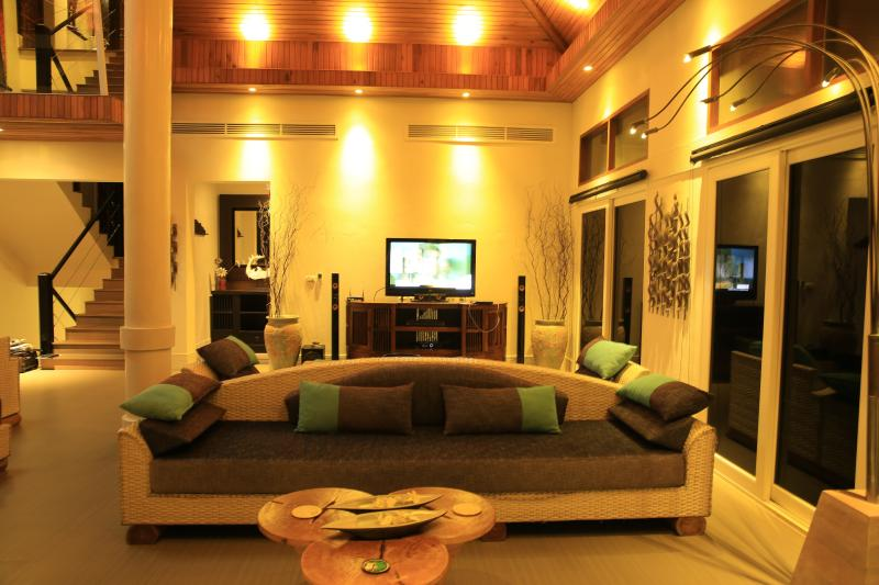 A 42' TV Room complete with a surround sound system, DVD along with satilite TV Reception
