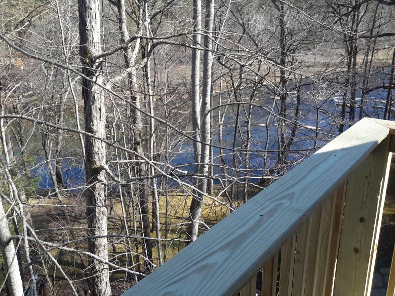 'Late winter view from deck'