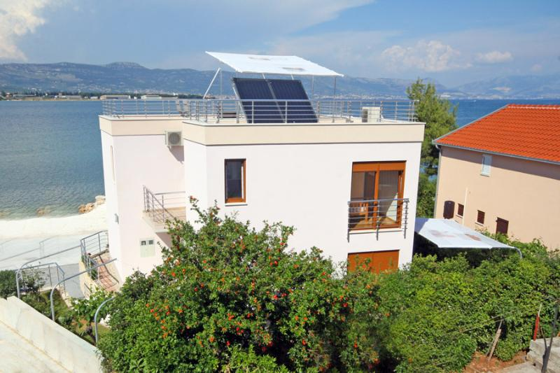 Beachfront Holiday Villa for rent, Trogir