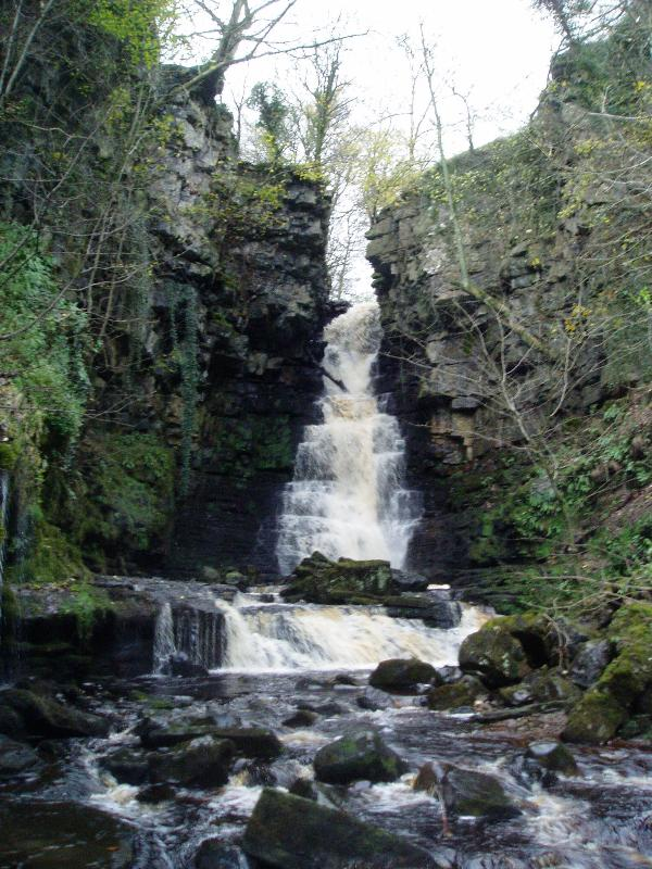 Upper Wensleydale has many hidden gems - this is Mill Gill Force
