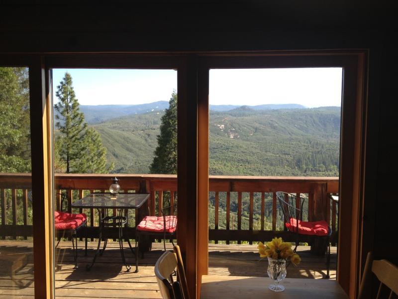 Balcone, vista dalla sala da pranzo