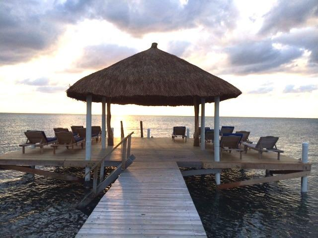 New dock Palapa with loungers, private for this enclave