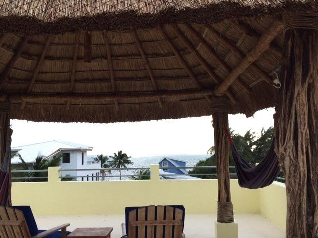 Ocean View from Roof top Palapa-Private
