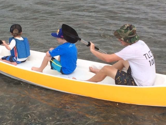 We rent sea kayaks too!