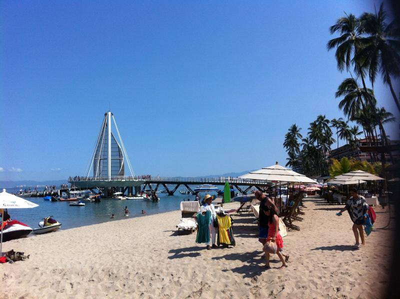 The iconic pier is also located at Los Muertos beach, so near from the apartment!