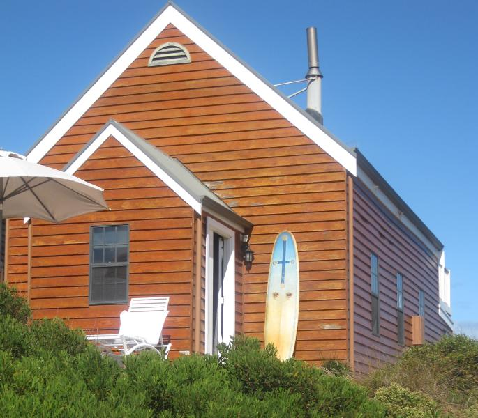 St Brigids Church set on the sand dunes of Goolwa Beach