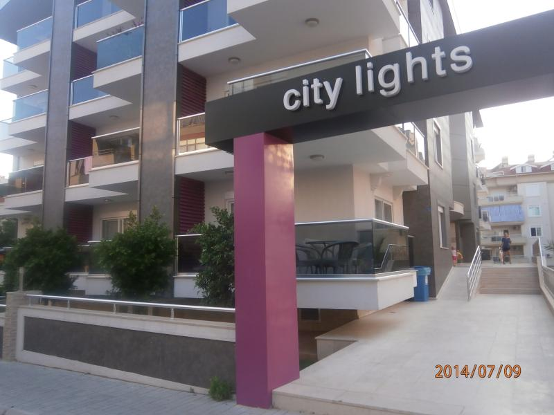 City lights duplex, holiday rental in Konakli