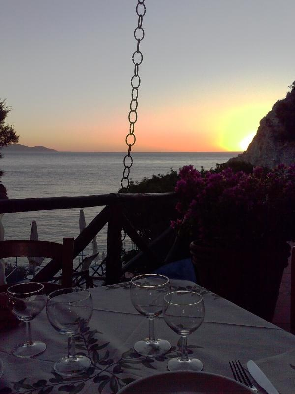 The restaurant beach