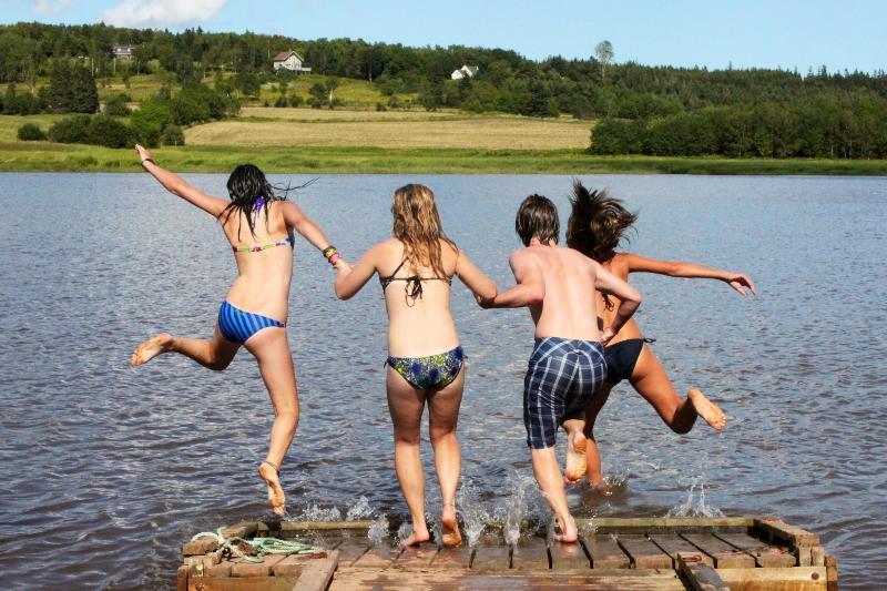 Dock fun!