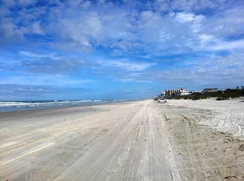 Drive-on beach 3 miles away. Lots of no-drive beach too.  #1 Beach in FL (Orlando Sun)