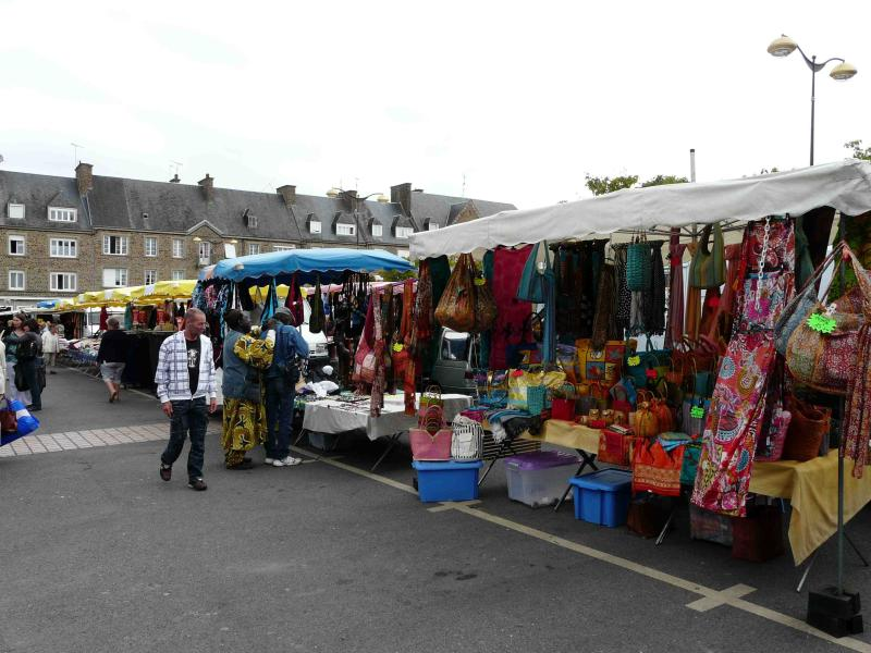 The famous market in St Hilaire Du Harcouet, 10 minutes away, is on Wednesday mornings.
