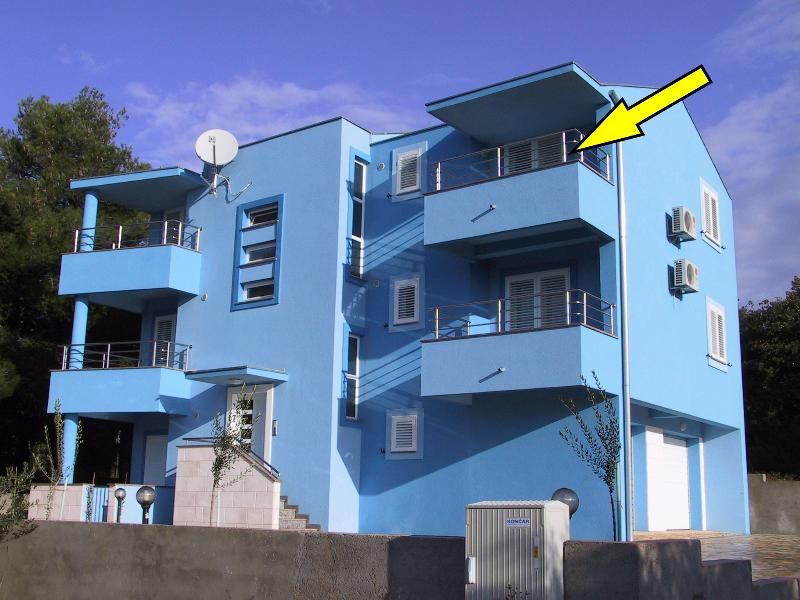Apartments BLUE, Diklo, Zadar, Apartment A5, vacation rental in Zadar