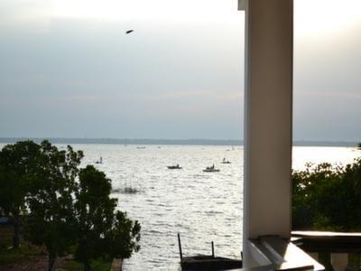 Balcony overlooking the lagoon Morning