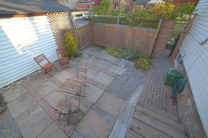 Zona de patio al aire libre