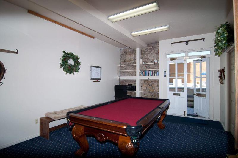 Billiard and Game Room in Common Area in Lodge