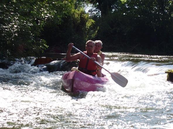 Canoeing on the Charente