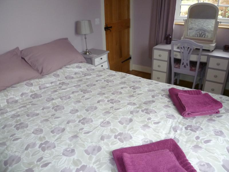 Master bedroom king size double bed