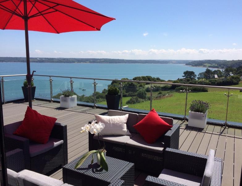 Villa avec Vue Mer imprenable, vakantiewoning in Taule