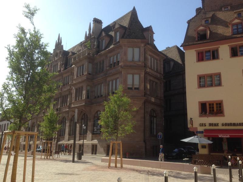 L'immeuble en style Néo-renaissance