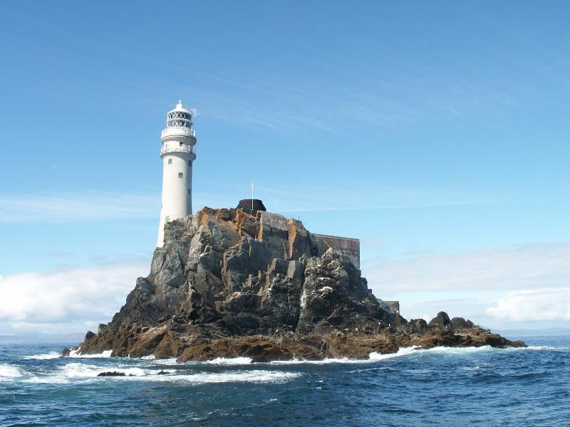 Fastnet Rock Lighthouse. Fantastic boat trip from Baltimore, 30 mins from your rented house