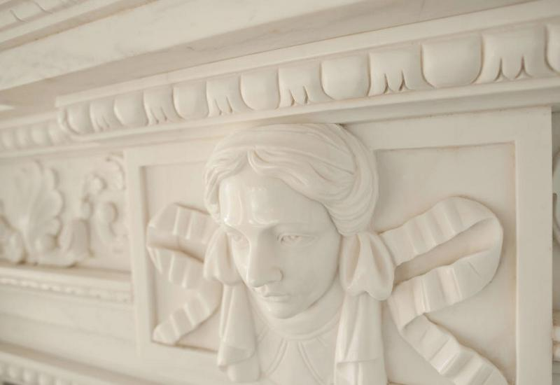 Example of marble handcraft