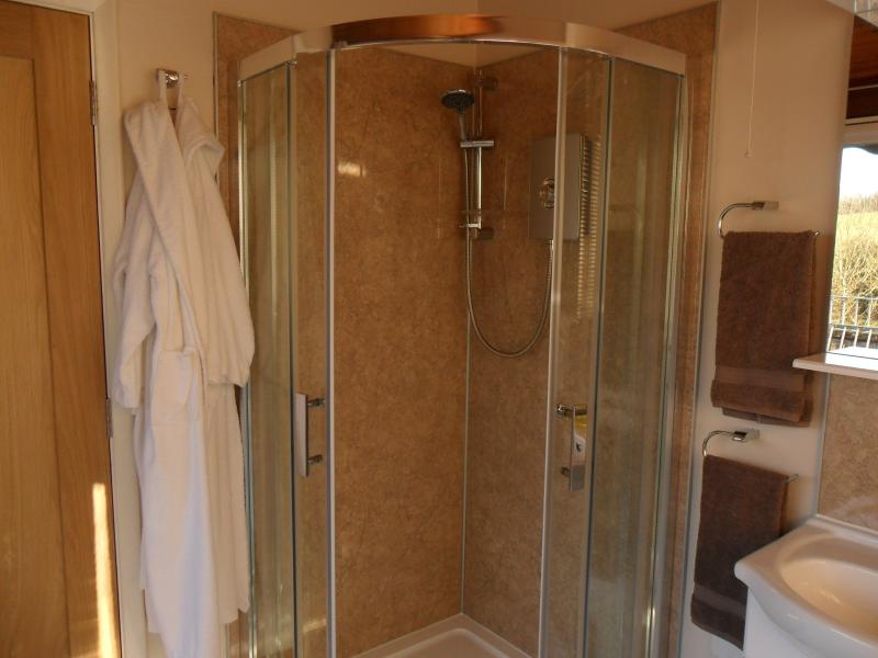 Your private Shower and  toilet.